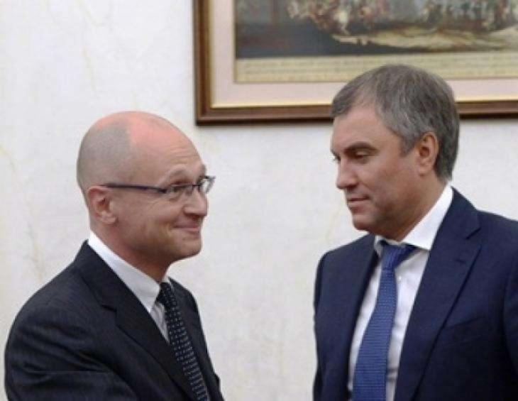 «Кремлевский БезБашенник»: целью Кириенко является вытеснение из политики людей Володина...