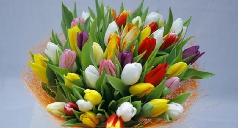 Цветы фото на восьмое марта