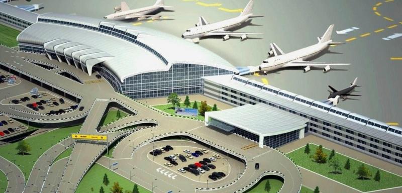 Аэропорт в сабуровке в новом году