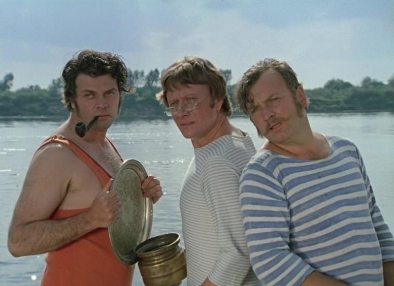 трое в лодке о чем фильм